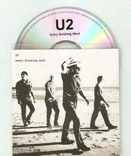 "U2 EVERY ""BREAKING WAVE "" BRAND NEW ARGENTIAN 2 TRACK OFFICIAL CD PROMO"