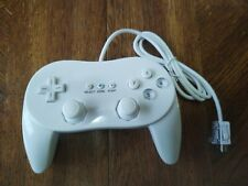 Nintendo Wii Classic Controller.  WIIRVLAR2W .  Connects to Wii remote.