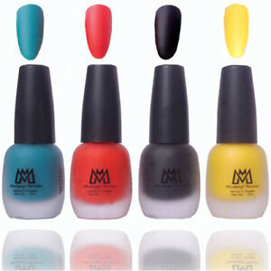 Makeup Mania Premium Matte Nail Polish Combo Of 4 MM20 each shade is original