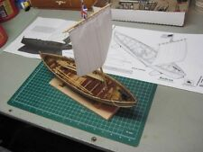 Colonial military boat bateau British Admiralty 1776 scale 1/24 woodenkit model