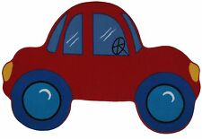 "Fun Rugs RED CAR Shape Area Rug 39"" X 58"" FTS-027 3958"