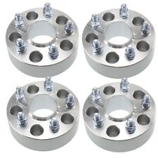 """4pcs 50mm Chevy Hubcentric Wheel Spacers 5x4.75 66.9mm Fits Camaro 2"""" 5x120"""