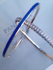 Auténtica Pandora Azul Radiante Corazones Brazalete 16 - 17.5 - 19cm - 590537EN82