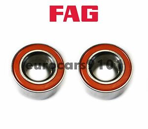 BMW 535is M5 FAG (2) Front OR Rear Wheel Bearings 33411468903 527243CA