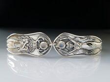 Mickie Mueller God & Goddess Moonstone Sterling Silver Bracelet by Peter Stone