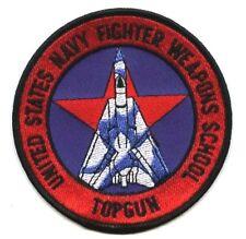 US NAVY TOP GUN FIGHTER WEAPONS SCHOOL AGGRESSOR F-14 TOMCAT νeΙ©®⚙⭐PATCH