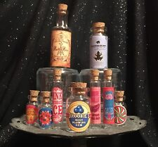 Honeydukes Small Apothecary Potion Bottles Harry Potter Decorations Prop Unique