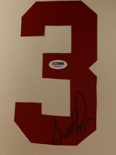 Chicago Bulls Scottie Pippen Signed #3 For Jersey 1on 1 Inc PSA