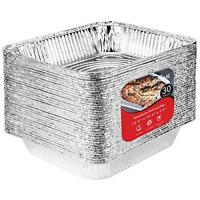 1 4 Size Sheet Cake Aluminum Foil Pan 25 Pk Disposable