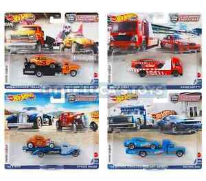 PRE ORDER Hot Wheels Car Culture Team Transport FLF56-956L SET 1-4 SEALED CASE