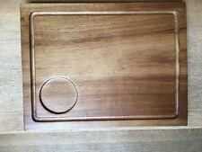 Olympia Acacia Steak Board Presentation Serving Tableware Kitchenware  31 x 24cm