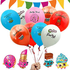"15 ct Shopkins 12"" Birthday Party Balloons Decorations Bouquet Decor"