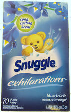 Snuggle Blue Iris & Ocean Breeze Fabric Softener Dryer Sheets 70ct