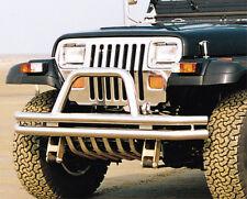Jeep Wrangler YJ 1986-1996 Frontbügel Ramme Front Stoßstange 75mm V2a bull bar