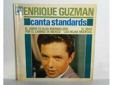 "ENRIQUE GUZMAN - CANTA STANDARS - SINGLE 7"" - ESPAÑA - (EX/NM - EX/NM)"