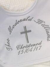 Personalised Bib Baptême-Baptême-Naming Day Bib