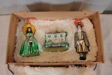 Polonaise By Komozja Gone With The Wind Handblown Glass Ornaments Boxed Set Tara