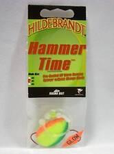 Hildebrandt Hammer Time #5 Citrus Spinner Spinnerbait Fishing Lure Walleye Glow