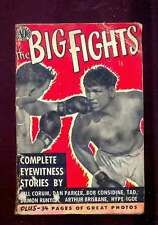 Harold MEYERS editor The Big Fights, Avon 1950 cahier 34 pages photos de boxeurs