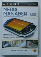 Media Manager for PSP (Play Station Portable) System - Software Plus USB Cable