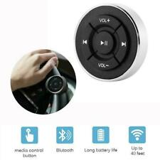 Car Bluetooth Media Remote Control Button Steering Mount Wheel J9M7