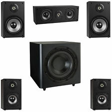 "NEW 5.1 Surround Sound Home Theater Speaker System.w/ 10"" Powered Subwoofer."