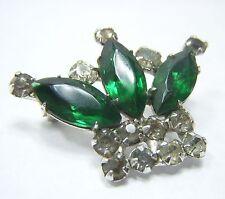 Vintage Unmarked Estate Jewelry Crown Brooch