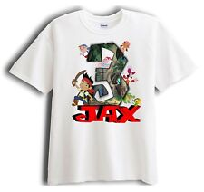 Jake and the Neverland Pirates Personalized - Birthday T-Shirt Party Favor