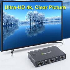 Tomlov HDMI KVM Switch 2 Port Video 4k VGA Splitter for Printer Keyboard Sharing