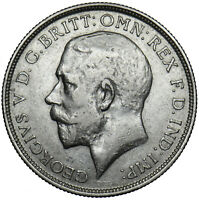 1915 FLORIN - GEORGE V BRITISH SILVER COIN - NICE