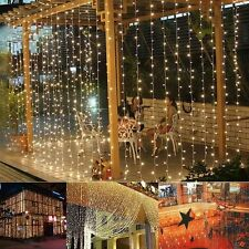 2/3/4/5/10m LED Christmas xmas String Fairy Wedding Curtain Light Party Decor