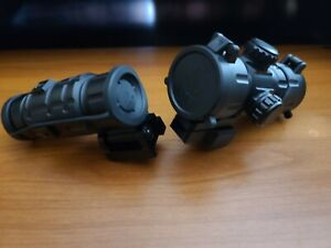 UTG Red T-Dot Scope with 3x Flip to Side Magnifier Combo - Leapers Reflex sight