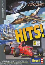 Revell Hits Katalog 1996 1997 brochure model cars Broschüre Katalog Modellautos