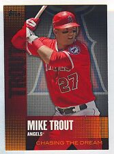 2013 Topps Chasing the Dream 18 of 25 Card Lot Trout Lawrie Malone Stanton+