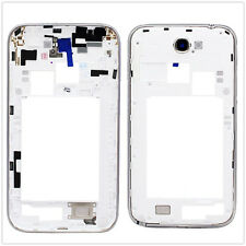 White Parts For Samsung Galaxy Note 2 II N7100 Back Frame Bezel CHASSIS Cover