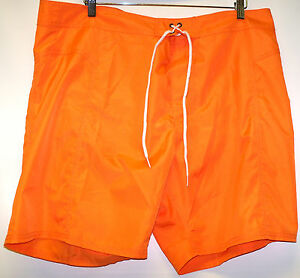 TRUNKS SURF & SWIM COMPANY --sz 40 - MENS SWIM SHORTS - ORANGE - NWT