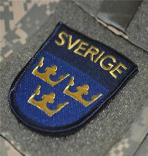 AFG-PAK JSOC NATO ALLIED COALITION OPERATOR hook/loop PATCH: SVERIGE SWEDEN 瑞典