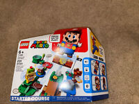 LEGO Super Mario Starter Course & Mario House W/ Yoshi NEW/SEALED 71360 & 71367