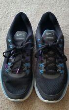 Nike lunarglide +4 Metallic Black, Silver, White,  Lunarlon,  9.5