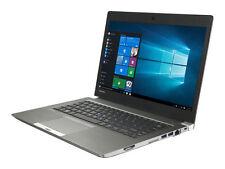 """Toshiba Portege Z30-B Ultrabook 2.6lbs i7-5600U 16GB 256GB SSD 13.3"""" FHD Win7Pro"""