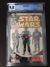 Star Wars #42 CGC 9.8 NM-M White Pages 1st Appearance of Boba Fett