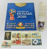 Panini World Cup 2018 Russia - complete set of 682 stickers + empty album NEW