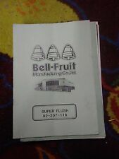 bell fruit royal flush fruit machine technical awp manual treble top