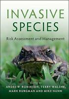 Invasive Species: Risk Assessment and Management by , NEW Book, FREE & FAST Deli