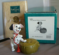"WDCC Disney "" LUCKY"" 101 Dalmatians 1995 Special Edition Event Ornament COA NIB"
