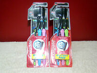 Toothbrush 6 Brush Colgate Slim Soft Charcoal Soft Bristles Lot Of 6 Free Ship