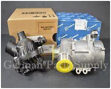 BMW E81-88 E90-93 GENUINE Thermostat + Sensor + Pierburg Electric Water Pump