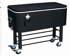 ALCOVE RIO BRANDS ENTERTAINER ROLLING PARTY COOLER (77 QUARTS, MIDNIGHT SANDS)