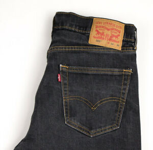 Levi's Strauss & Co Hommes 505 Jeans Jambe Droite Taille W34 L30 APZ1298