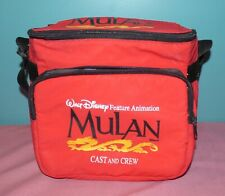 """Walt Disney Feature Animation Cast and Crew Lunchbox """"Mulan"""" (1998)"""